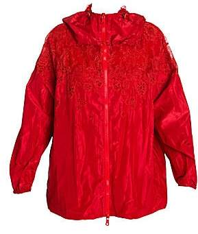 Valentino Women's Lace Nylon Jacket