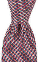 "Class Club 50"" Mini Gingham Tie"