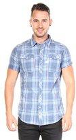 G Star Men's Landoh Short Sleeve Button-Up Shirt