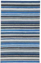 Hype Stripe Rug Blue Multi