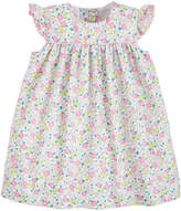 Little English Girl's Kate Ditsy Floral Cap-Sleeve Dress, Size 18M-6