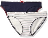 Tommy Hilfiger Women's 2 Pack Classic Logo Bikini