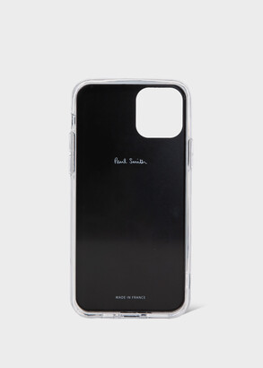 Paul Smith Black 'Happy' Print iPhone 11 Pro Case