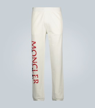 MONCLER GENIUS 2 MONCLER 1952 & AWAKE NY logo cotton trackpants
