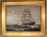 One Kings Lane Vintage Seascape by Alfred Addy