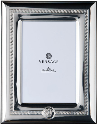 """Versace Silver Plate Photo Frame, 4"""" x 6"""""""