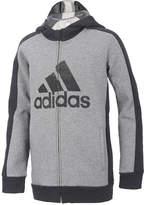 adidas Athletic Full-Zip Hoodie, Little Boys (4-7)