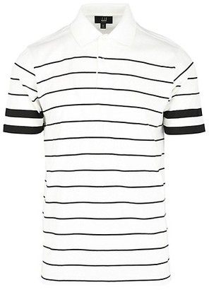 Dunhill Regular-Fit Stripe Cotton Polo