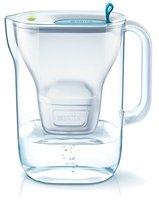 Brita Style Water Filter Jug and Cartridge, Soft Blue