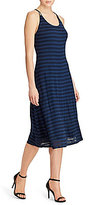 Lauren Ralph Lauren Striped Jacquard Dress