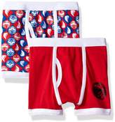 Power Rangers Power Ranger Big Boys' Red Underwear 2 Pack, Multi