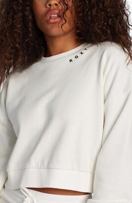 Roxy Over the Moon Crop Sweatshirt