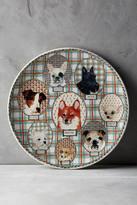 Faiencerie De Gien Gien Darling Dog Cake Platter