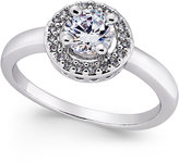 Charter Club Silver-Tone Crystal Halo Statement Ring, Only at Macy's