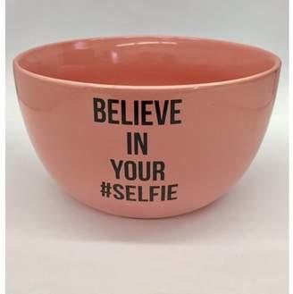 Mug Me I'm Famous CB-522 Ceramic Soup/Cereal Belive in Your Selfie Bowl, WHITE