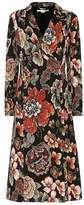 Stella McCartney Floral-jacquard coat