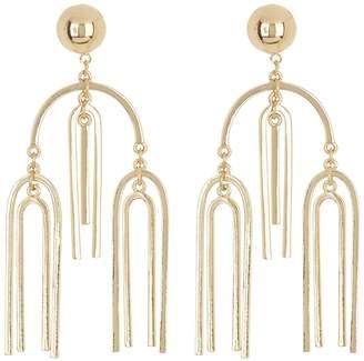 Steve Madden U-Bar Chandelier Earrings