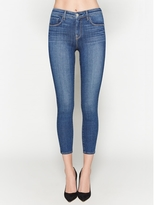 L'Agence The Margot High Rise Ankle Skinny In Dark Vintage