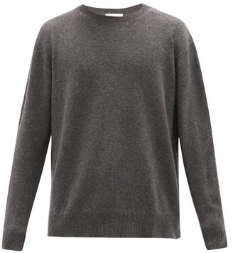 Raey Loose-fit Crew-neck Cashmere Sweater - Charcoal