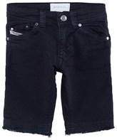 Diesel Black Denim Shorts