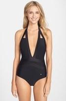 Ted Baker 'Ralinda' Halter One-Piece Swimsuit