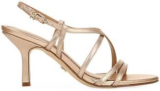 Sam Edelman Paislee Metallic Leather Slingback Sandals