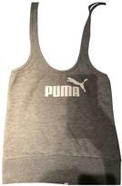 Puma Grey Cotton Top for Women