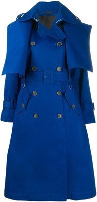 Eudon Choi double-breasted trench coat