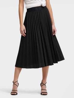 DKNY Pull On Pleated Skirt