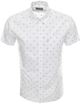 Barbour Short Sleeve Crab Shirt White