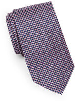 Black Brown 1826 Check Silk Tie