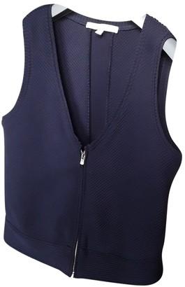 Maje Fall Winter 2018 Blue Knitwear for Women