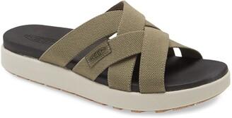Keen Elle Webbing Strap Slide Sandal