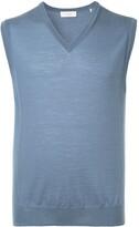 Cerruti sleeveless fitted sweater