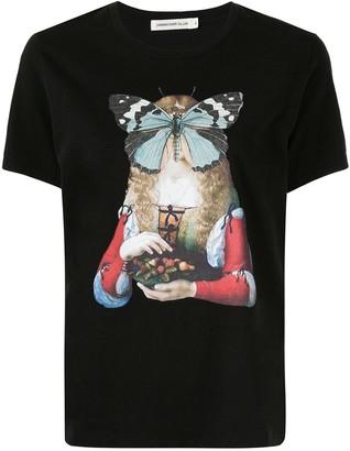 Undercover butterfly-print T-shirt