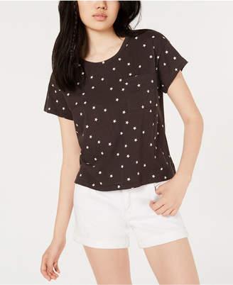 Ultra Flirt By Ikeddi Juniors' Boxy Pocket T-Shirt