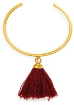 Madewell Tassel Bangle Cuff