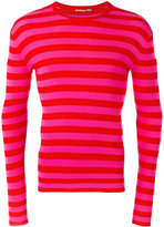 Ermanno Scervino striped sweatshirt - men - Cotton - 48