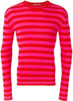 Ermanno Scervino striped sweatshirt