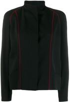 Jean Louis Scherrer Pre Owned lined detail jacket