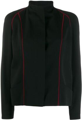 Jean Louis Scherrer Pre-Owned Lined Detail Jacket