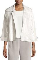 Caroline Rose Garden Goddess Jacquard Jacket, Plus Size