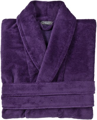 Christy Cosy Robe Large-exlarge Crushed Grape