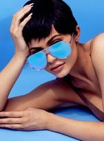 Quay Iconic Sunglasses Gold/Purple