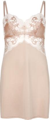 Wacoal Lace Affair Blush Jersey Chemise