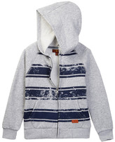 7 For All Mankind Striped Hoodie (Big Boys)