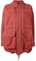 Stella McCartney oversize zipped jacket