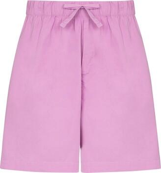 Tekla Drawstring Pyjama Shorts