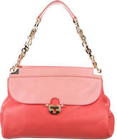 Tory Burch Colorblock Leather Shoulder Bag