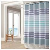 Kassatex Bodrum Shower Curtain - Blue